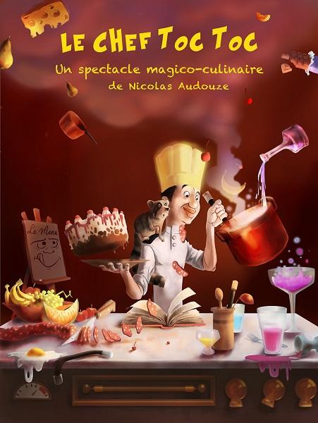 Le Chef toc toc - de Nicolas Audouze