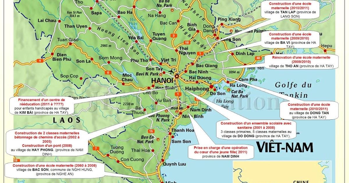 lumieres d 39 asie une lueur d 39 espoir pour les enfants du vietnam la carte du vietnam. Black Bedroom Furniture Sets. Home Design Ideas