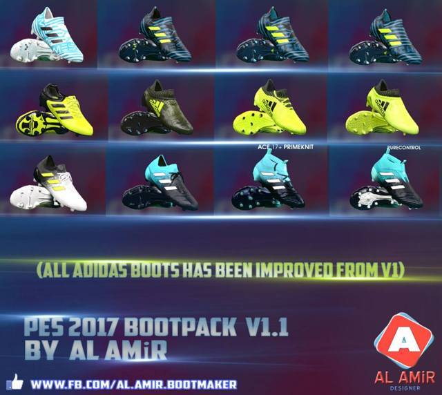 New Bootpack 2018 PES 2017