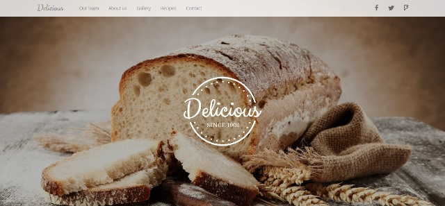 DELICIOUS – Food & Drink HTML Template