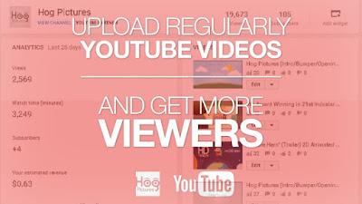 Cara Meningkatkan Jumlah View, Penonton, atau Pengunjung YouTube - Hog Pictures
