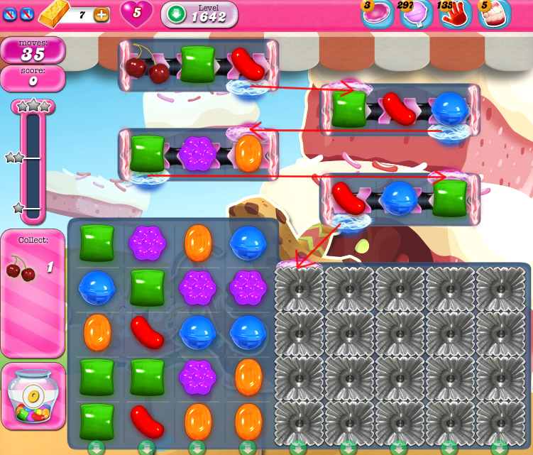 Candy Crush Saga 1642