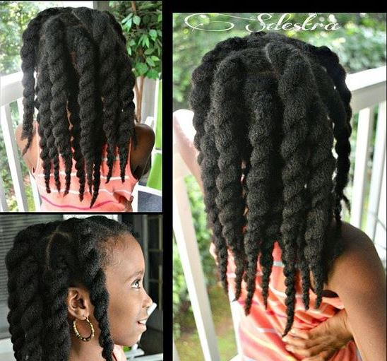 Twist Hairstyles For Kids
