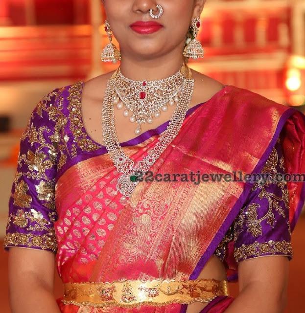 Guests Jewellery at Hasini Boinipally Wedding