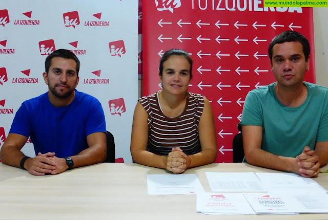 IUC constituye su Consejo Político Local en Los Llanos y elige a Mariela Rodríguez como Coordinadora - De izquierda a derecha: Adrián León, Mariela Rodríguez y Andrés Castro.