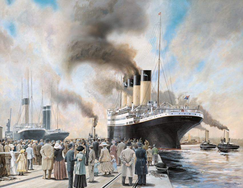 The Art of Jeremy Day: RMS Titanic