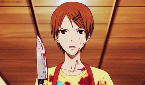 Riko Aida (Kuroko no basuke) - 20 Karakter perempuan yang mengerikan saat marah