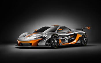 Wallpaper: McLaren P1 GTR
