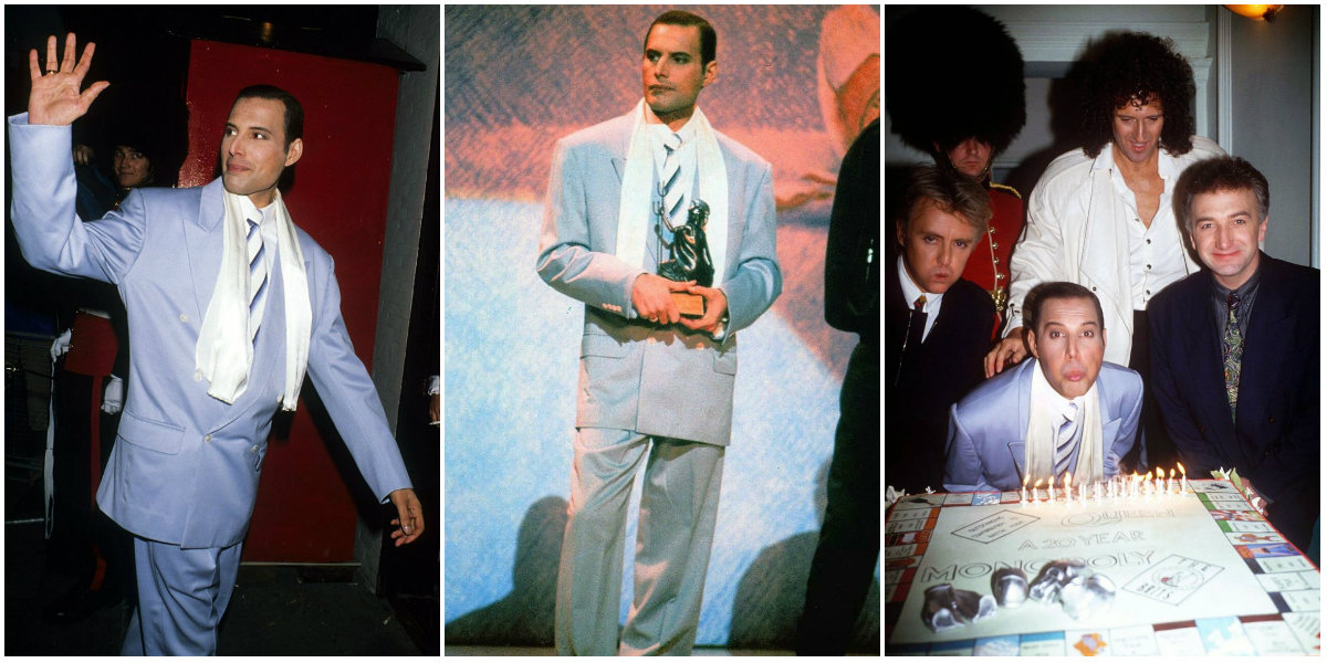 1990 Brit Awards and 20th Anniversary Queen: Candid Photographs From Freddie Mercury's Final Public Appearance