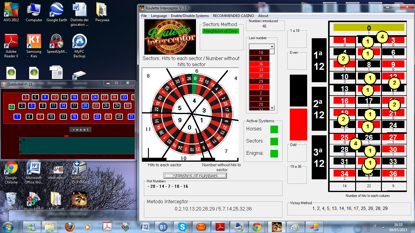 Sistemi vincenti roulette on line