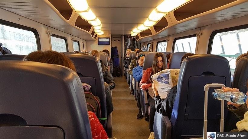 Trem na Europa - Diário de Bordo - 5 dias em Londres