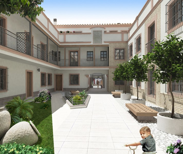 Edificio Helios, Lora del Río (Sevilla) - Estudio Honorio Aguilar