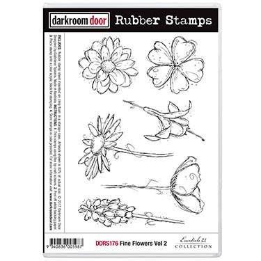 Darkroom Door Fine Flowers  sc 1 st  Topflight St&s - Blogger & Topflight Stamps: Fine Flowers-Darkroom Door u0026 Paperartsy