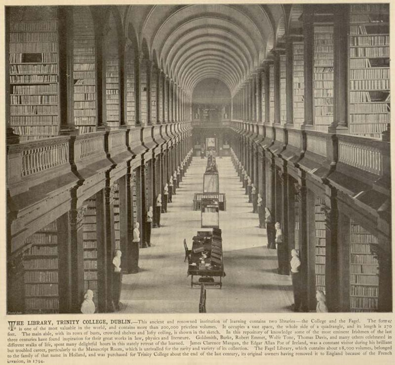 The Long Room Library, Dublin