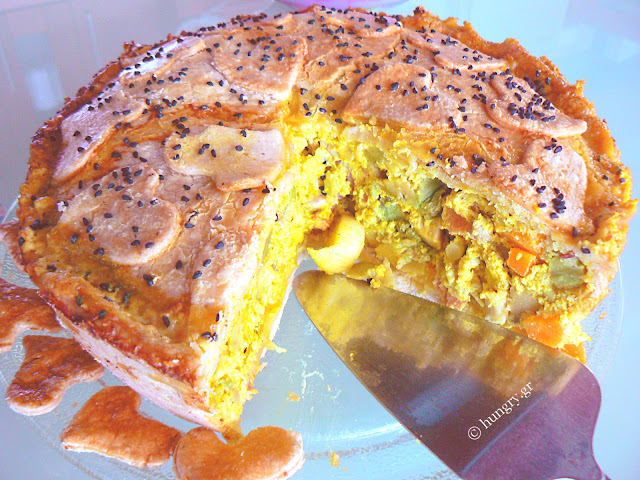 Chicken Pie with Avocado