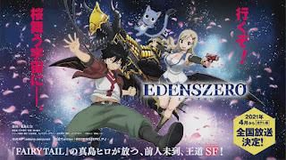 Edens Zero – visual promocional do anime