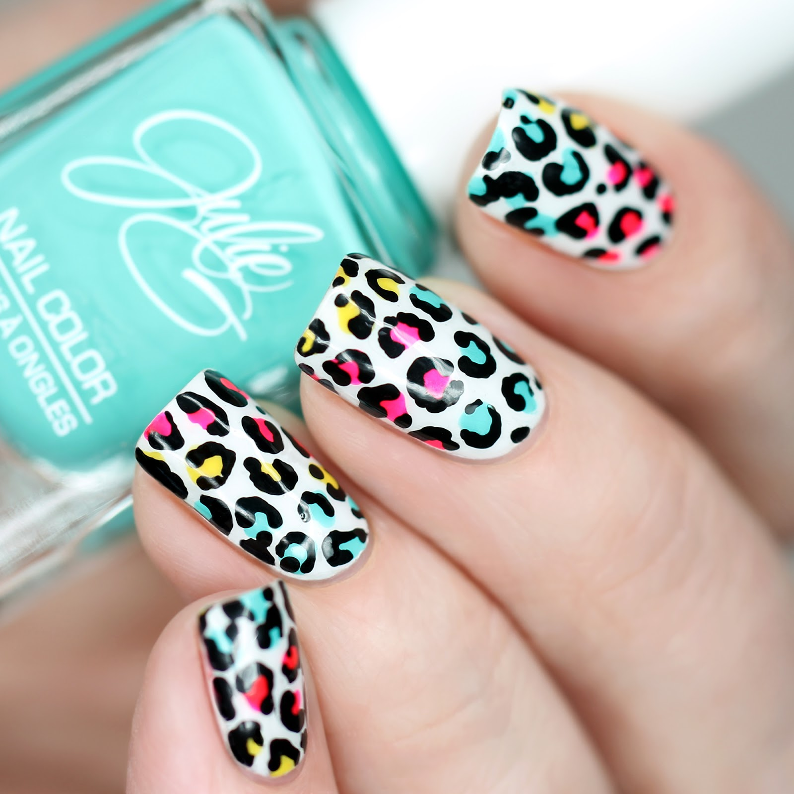 Bright Summer Nail Art + Meet Me in Orange County July 9th! - work ...