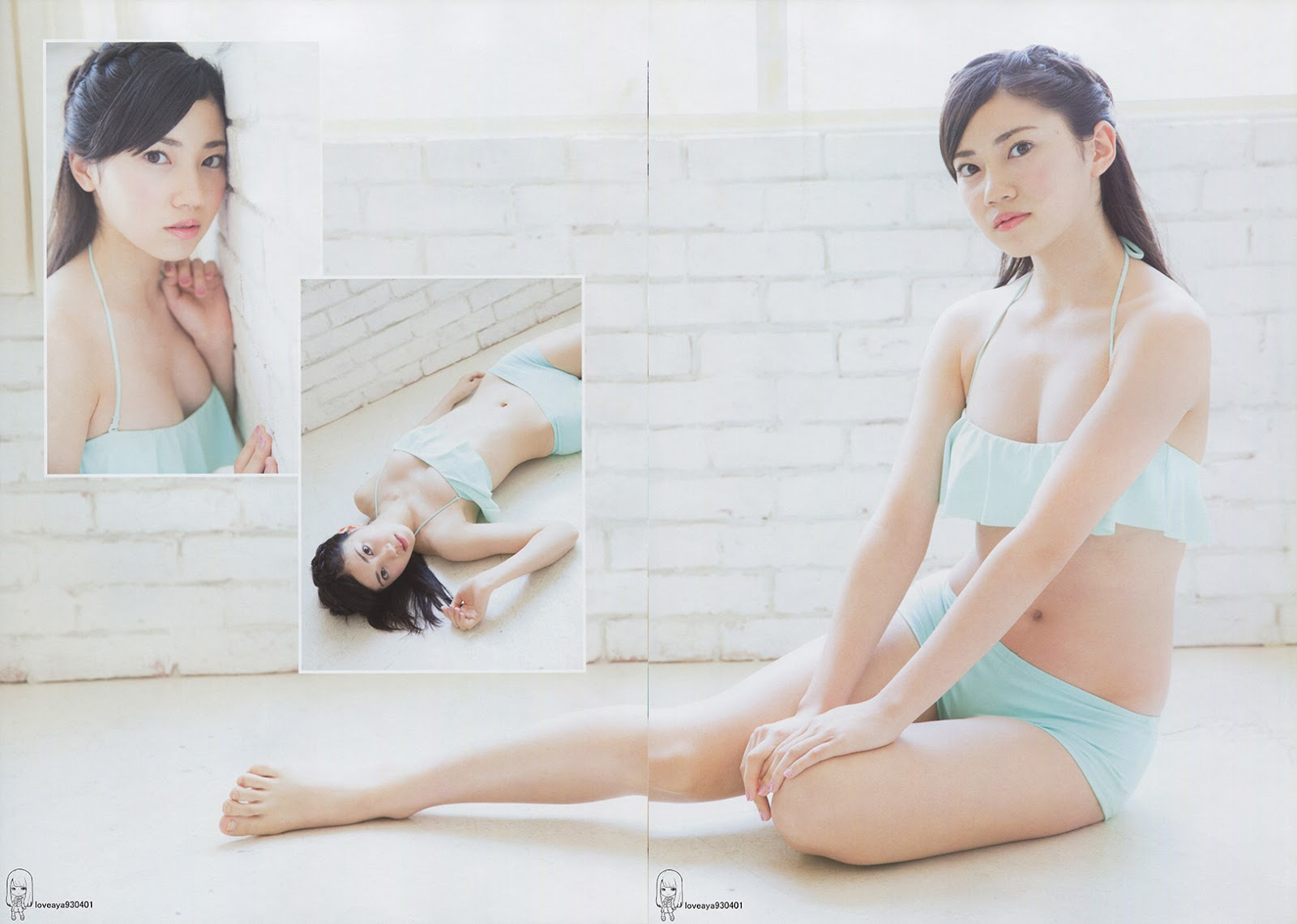 Kitagawa Ryoha 北川綾巴 SKE48, No.02 BUBKA 2017.06 100%SKE48 (ブブカ 100%SKE48 2017年06月号)