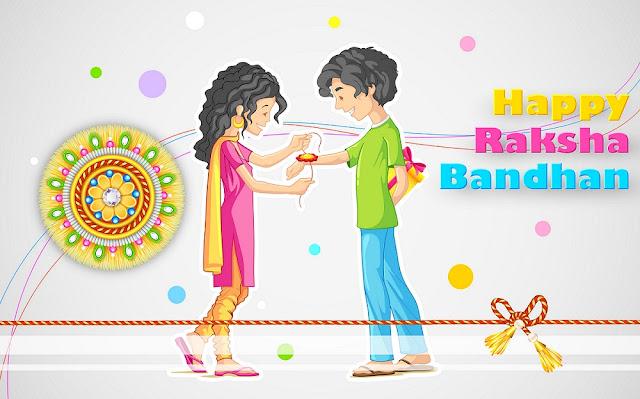 happy raksha bandhan cartoon images