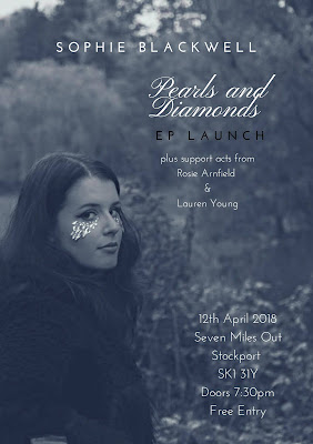 Support act for Sophie Blackwell EP launch - 12th April
