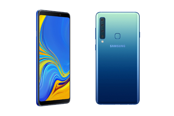 SAMSUNG's Galaxy A9 (2018) is the World's first quad camera smartphone