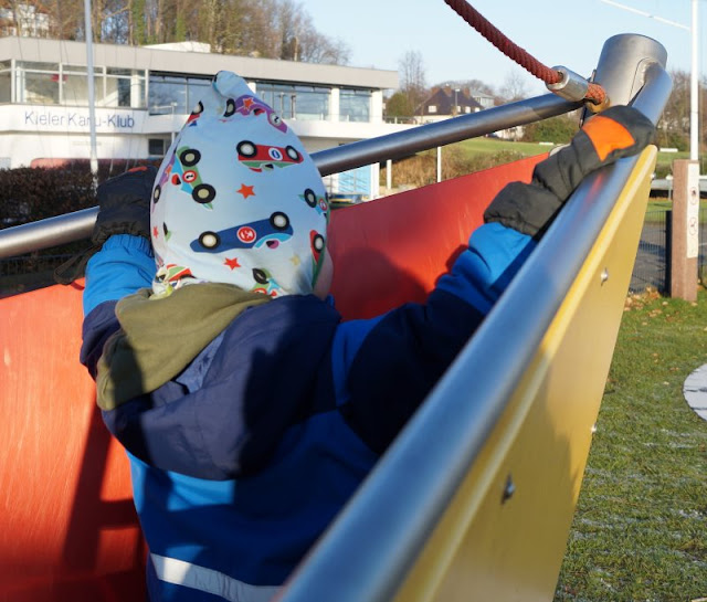 Kiellinie Kieler Förde Spielplatz Spielschiff