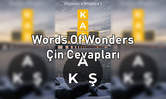 Words Of Wonders Cin Cevaplari
