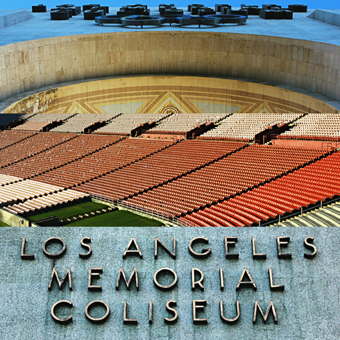 los angeles memorial coliseum olympics