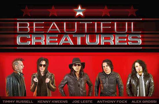 BEAUTIFUL CREATURES - Deuce Deluxe (2017) back