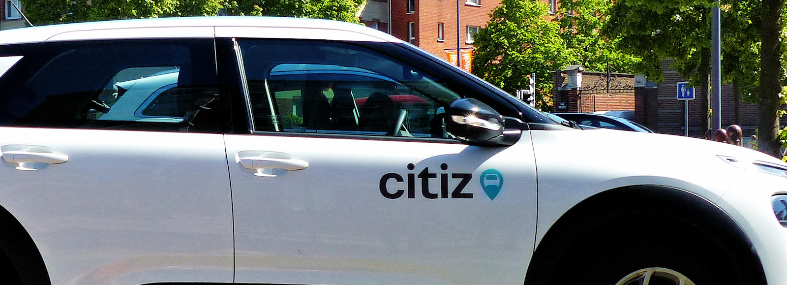 Station Autopartage Citiz Cavell, Tourcoing