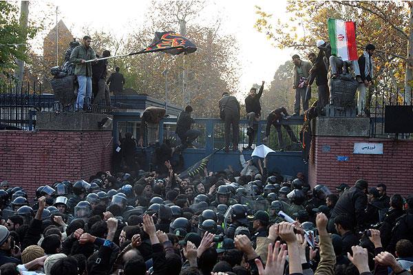 Asalto en Irán a la embajada... americana, la crisis de los rehenes de 1979