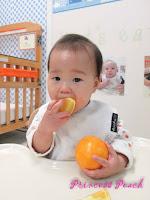 茉莉吃橘子
