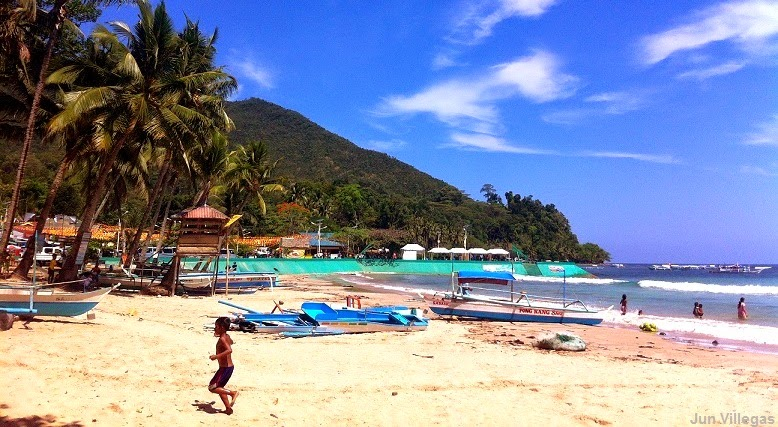Sabang Beach Is Not That Por Compared To The Beaches Of El Nido And Coron But One Cannot Simply Disregard Beauty Splendor This Once