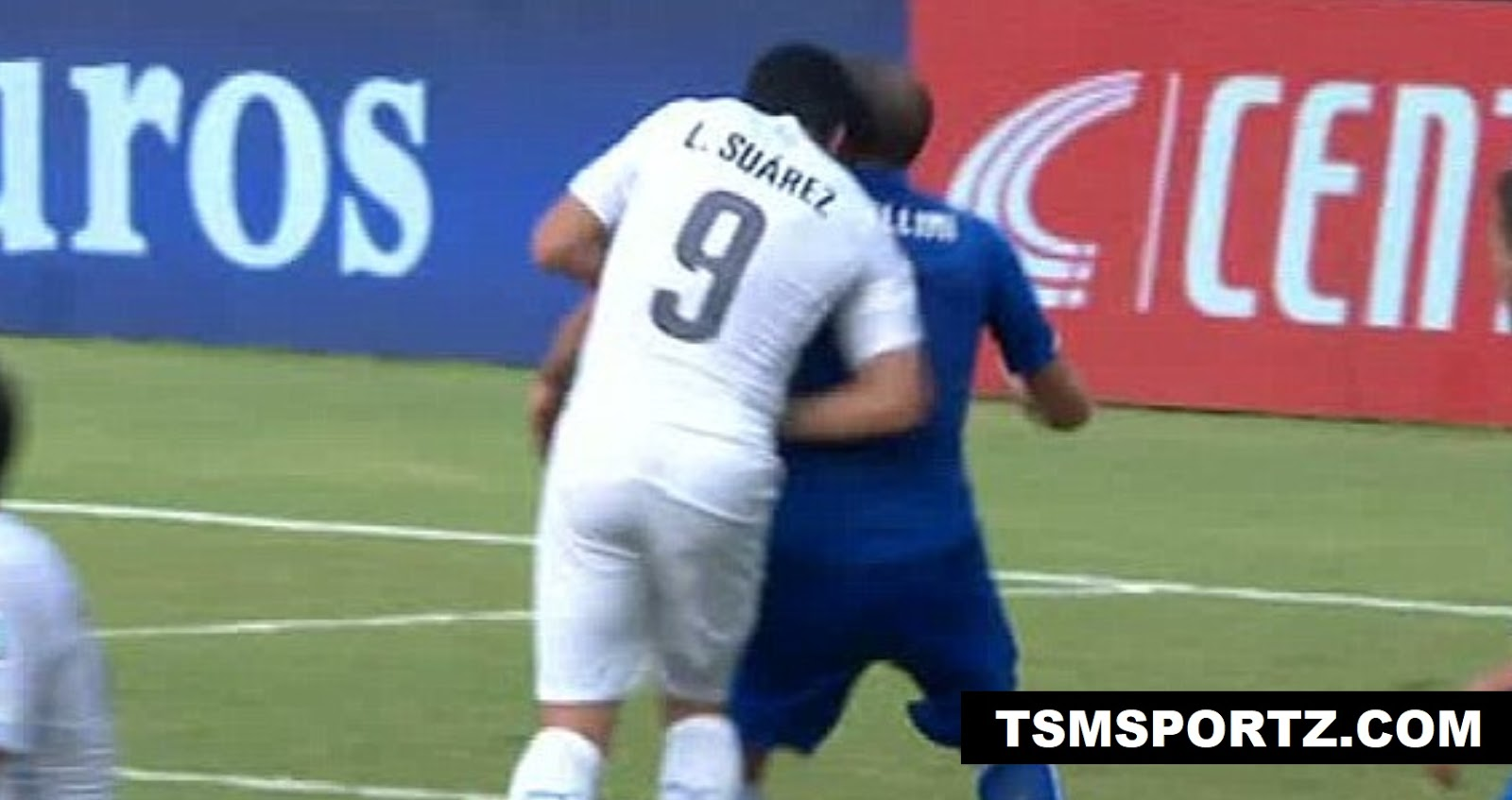 Suarez biting incident cause him 4 months ban in football