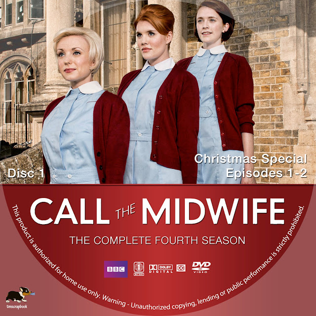 Call The Midwife Season 4 Disc 1 DVD Label