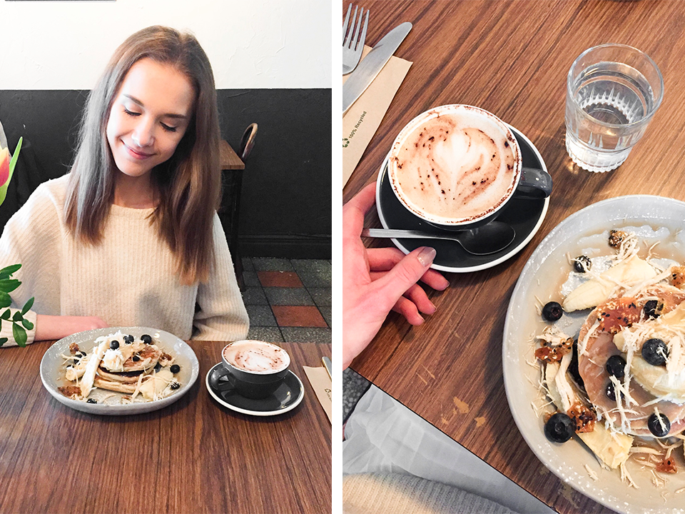 brunch-mala-carne-glasgow-pancakes-cappuccino-coffee