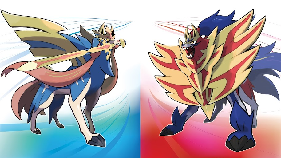 Zacian And Zamazenta Pokemon Sword And Shield 8k Wallpaper 9