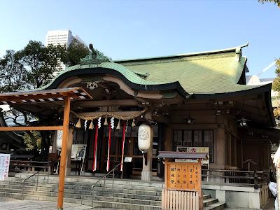 吉方位 大阪 坐摩神社