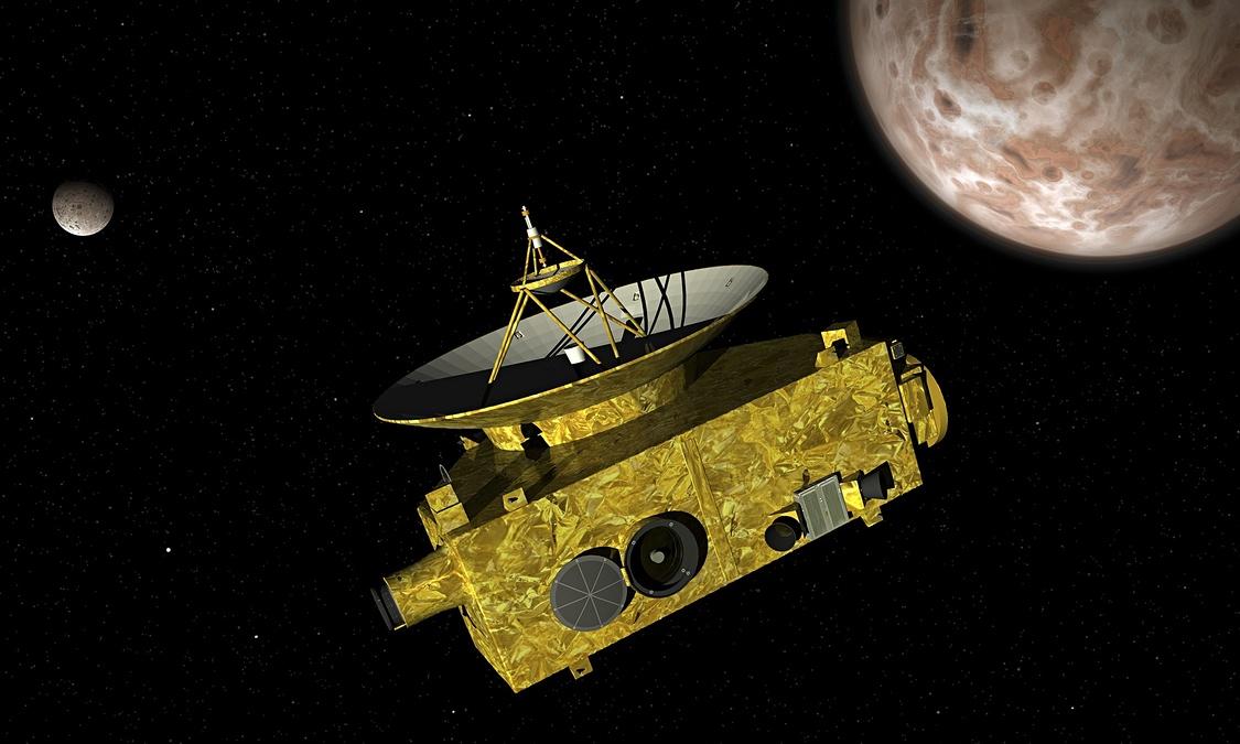 space probe to pluto - 1125×675