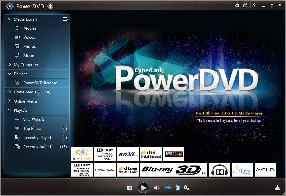 CyberLink PowerDVD Ultra 15.0.1510.58