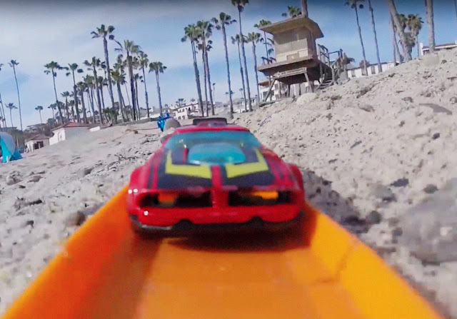 First Person Hot Wheel Racing | Mit dem Hot Wheel Car am Strand | POV