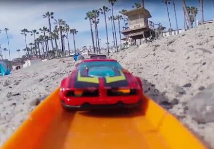First Person Hot Wheel Racing | Mit dem Hot Wheel Car am Strand | POV