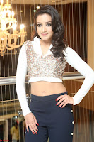 Catherine Tresa in a White Glittering Crop Top Black Leggings  Exclusive 011.JPG