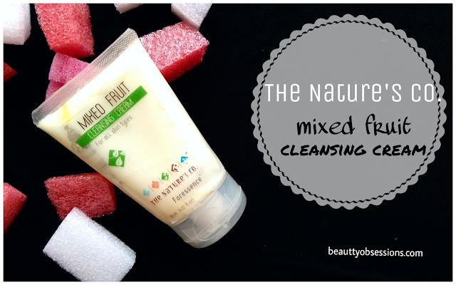 The Nature's Co. Mixed Fruit Cleansing Cream Review...