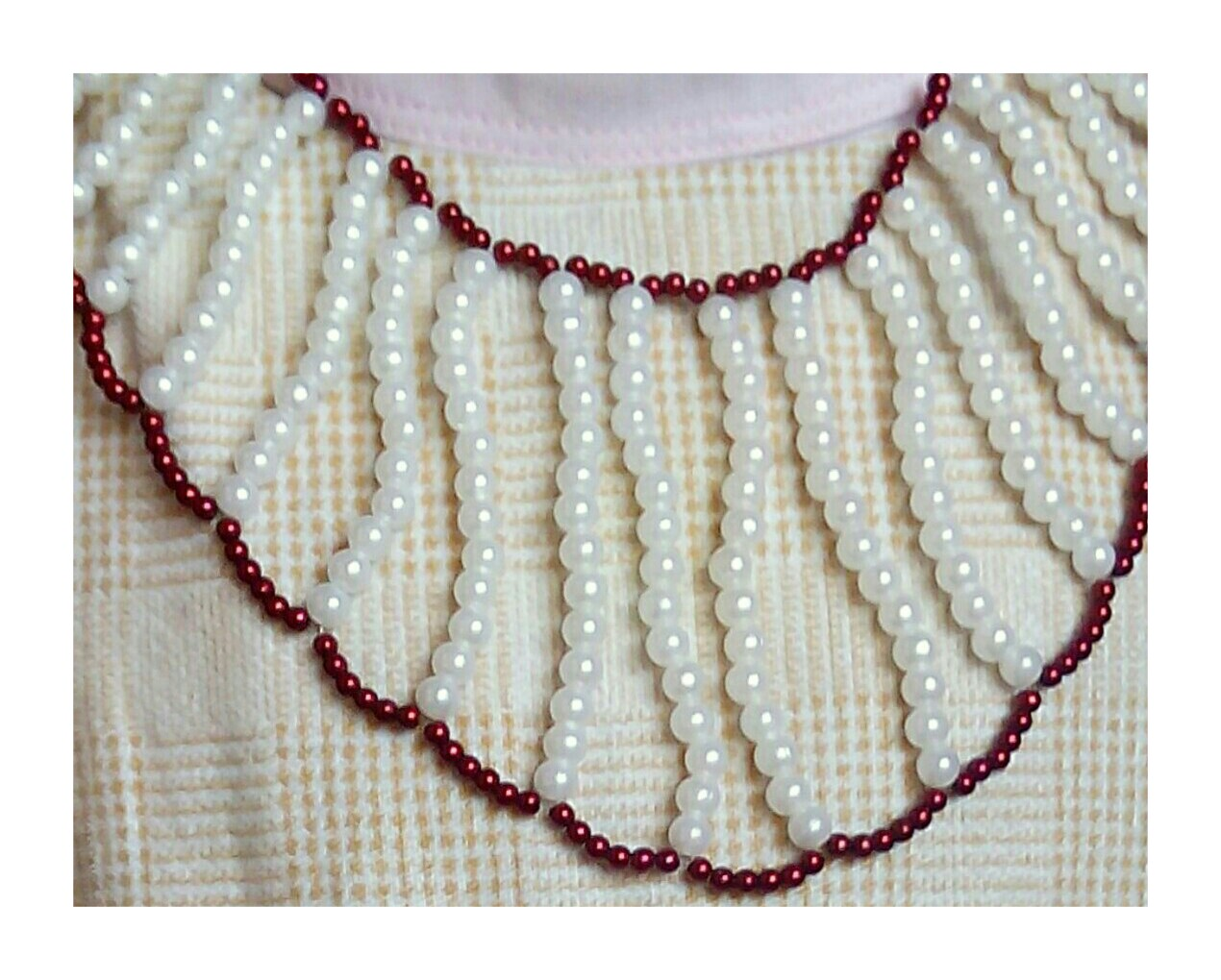 Beadination: Side layers 1 beaded necklace tutorial