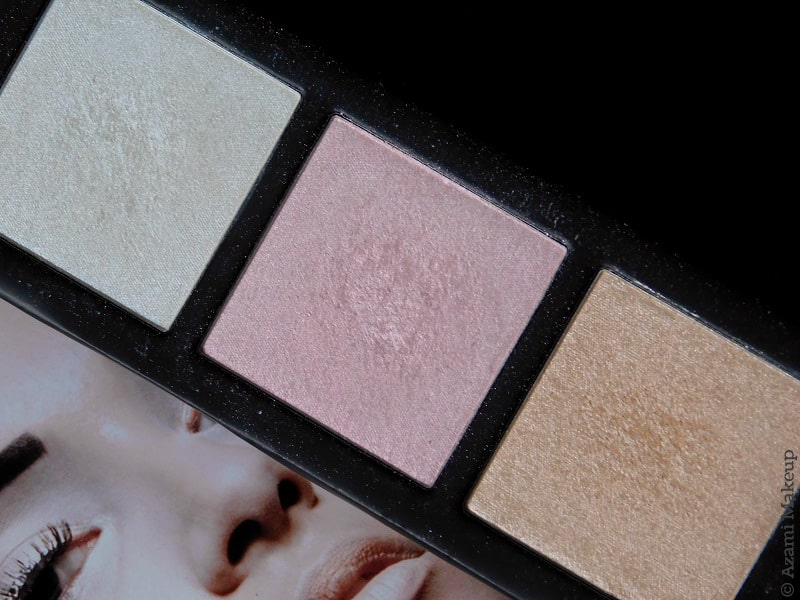 M.A.C. Cosmetics | Get Lit Hyper Real Glow Highlighting Palette - Blue Pink Peach Highlighter - Review & Swatches - Avis - Revue