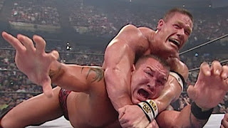 WWE John Cena STF Submission Randy Orton WWE Championship