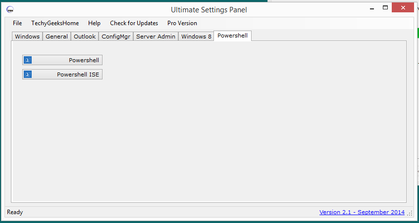 Ultimate Settings Panel version 2.1 Released 7