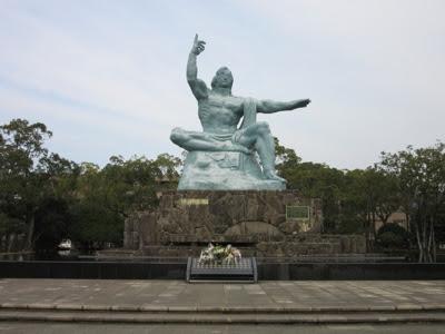 Estatua de la Paz. Parque de la Paz. Nagasaki