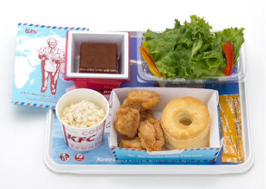 AIR KENTUCKY FRIED CHICKEN is back this winter as the 11th installation of JAL's popular AIR SERIES inflight meal